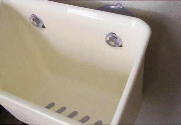 Giỏ để bàn chải thuốc đánh răng, bông lau hít tường đa năng KM 1006 hàng Nhật