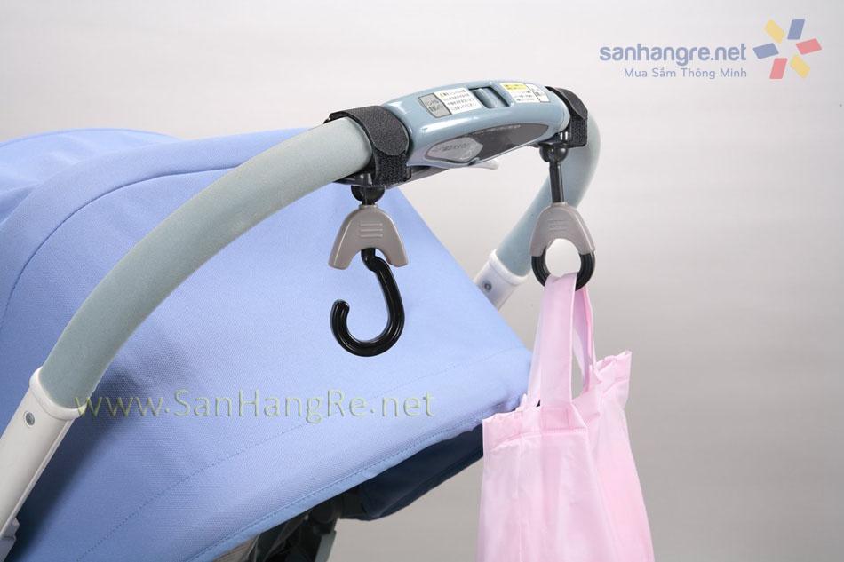 Bộ 2 móc treo dây đai dính 3kg Niheshi 6219 hàng Nhật
