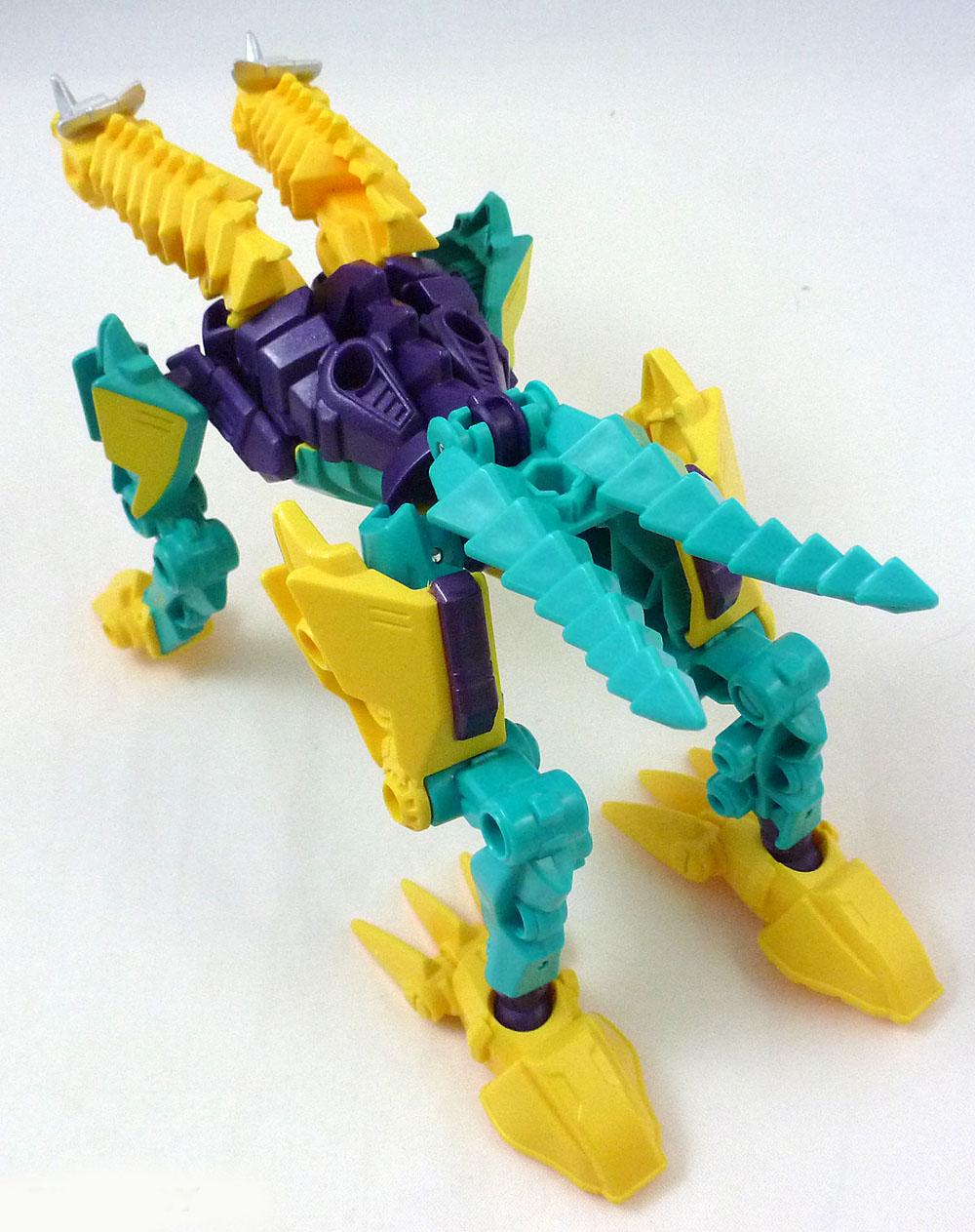 Đồ chơi Transformer - Robot biến hình Beast Hunters Twinstrike Predacon