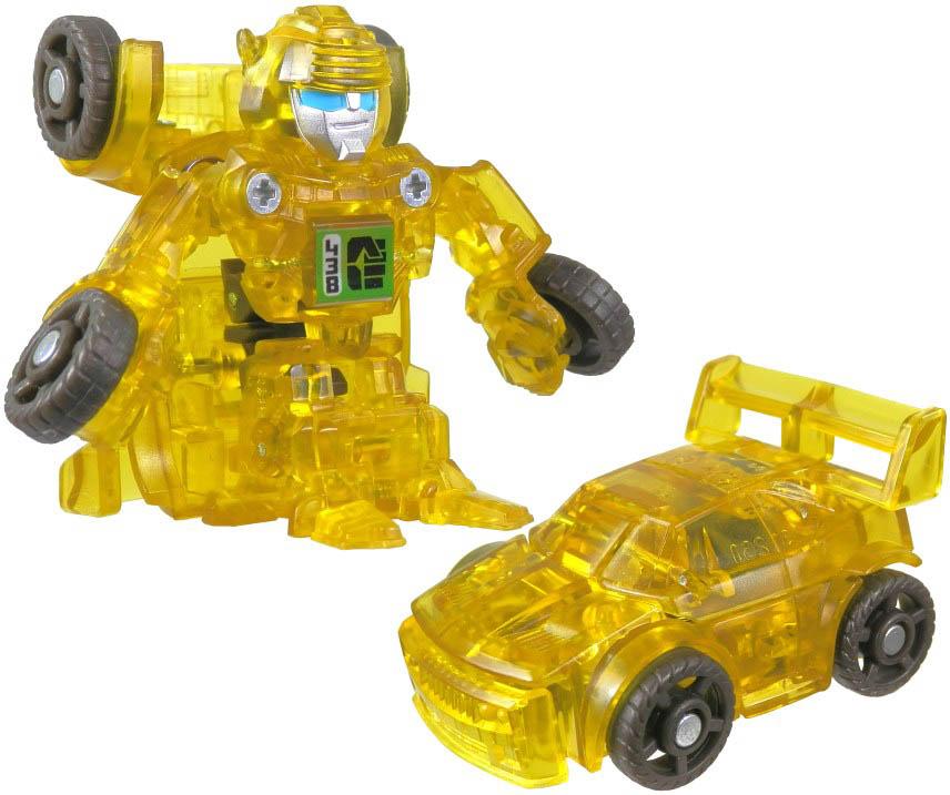 Bộ 3 đồ chơi Robot Transformer Mini Bot Shots - Twinstrike, Skystalker và Bumblebee