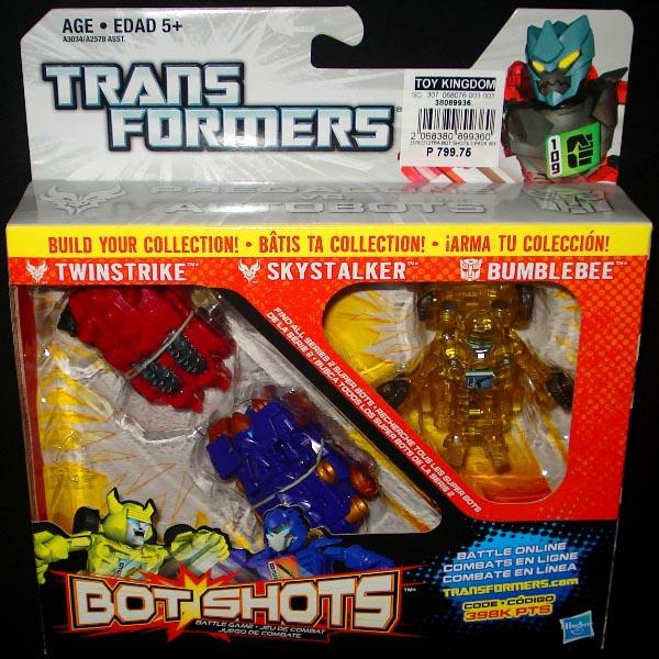 Bộ 3 đồ chơi Robot Transformer Mini Bot Shots