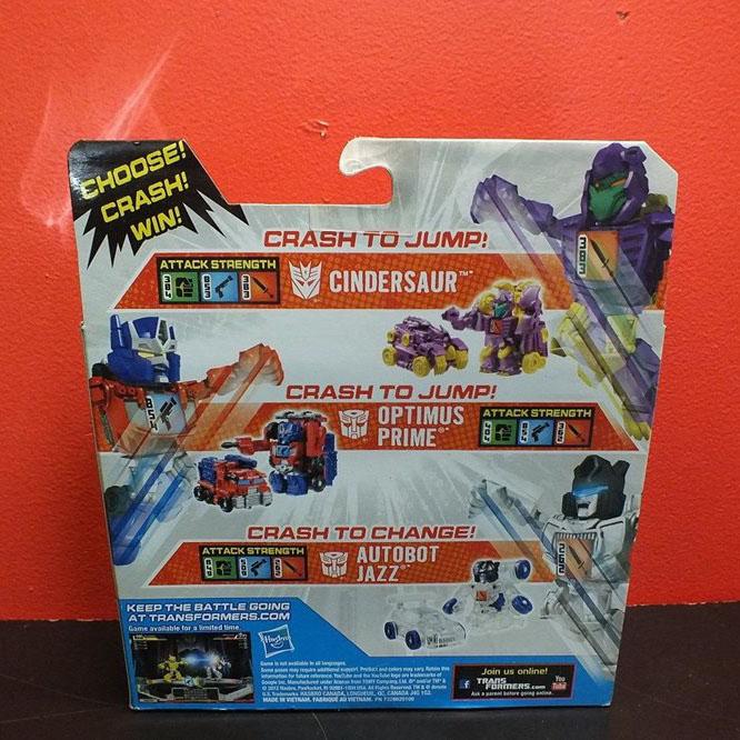 Bộ 3 đồ chơi Robot Transformer Mini Bot Shots - Cindersaur