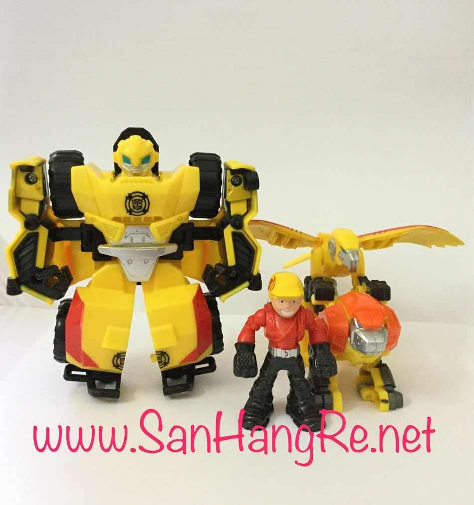 Đồ chơi Hasbro Robot Transformers CombinerForce biến hình ô tô 2 trong 1 kết hợp BeeSide