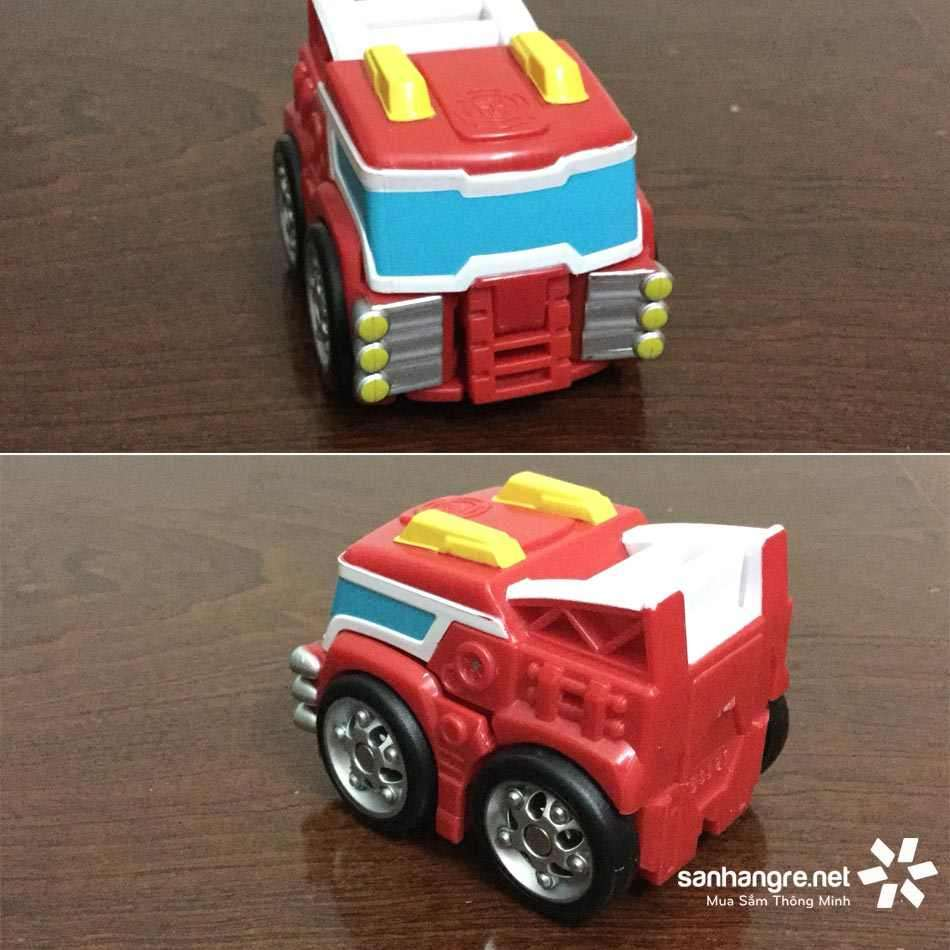Bộ 4 Robot Transformers Rescue Mini đội biến hình xe cứu hộ