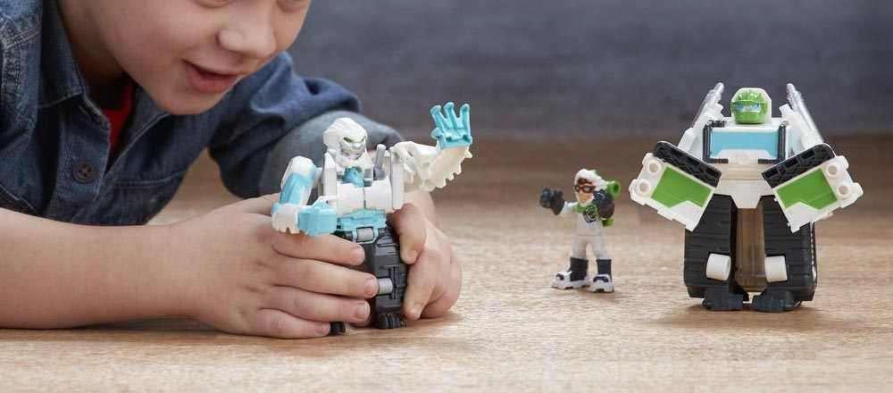 Robot Transformers Rescue Heroes biến hình 3 trong 1 - Arctic Rescue Boulder