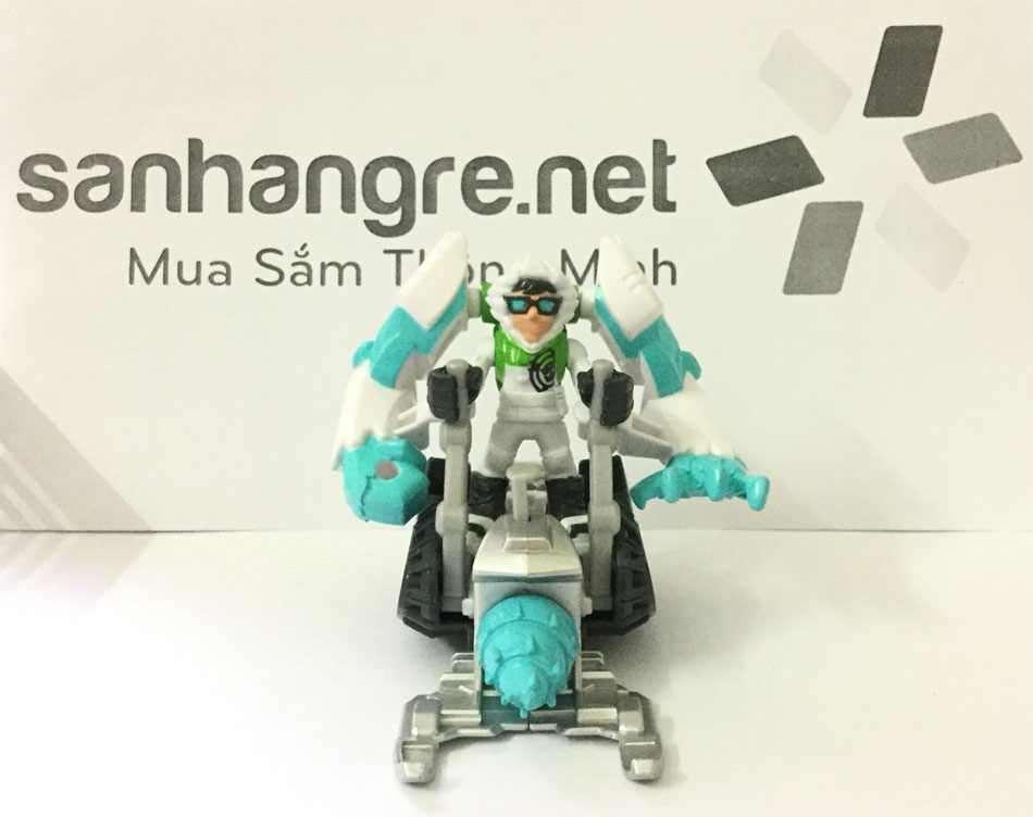 Robot Transformers Rescue Heroes biến hình 3 trong 1 - Snow Rock