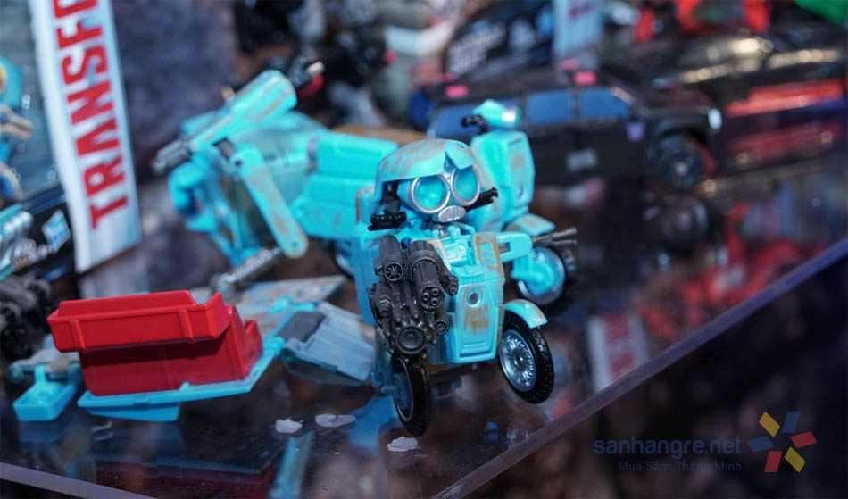 Đồ chơi Robot biến hình xe máy Transformers The Last Knight - Autobot Sqweeks