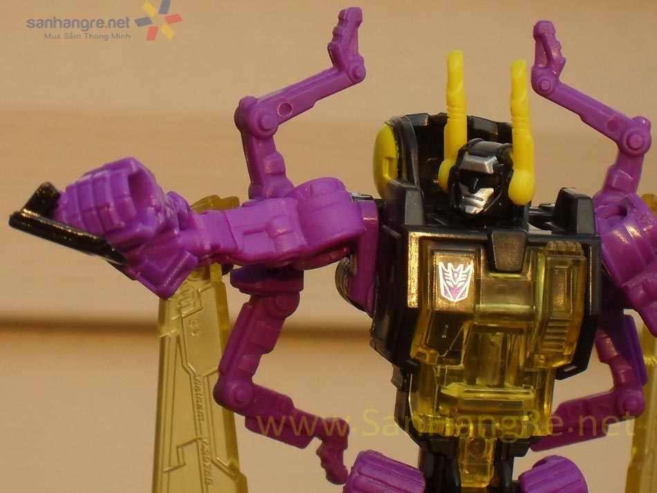 Robot Transformers biến hình ô tô Titans Return - Kichback