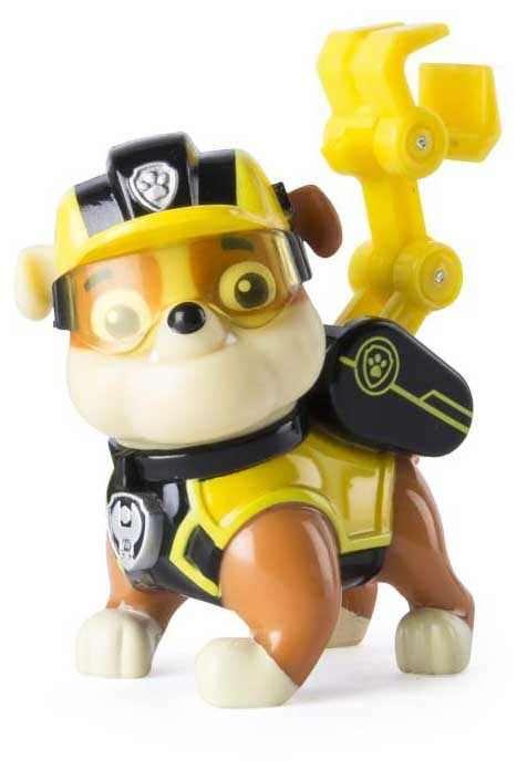 Chó Paw Patrol đeo kính Rubble