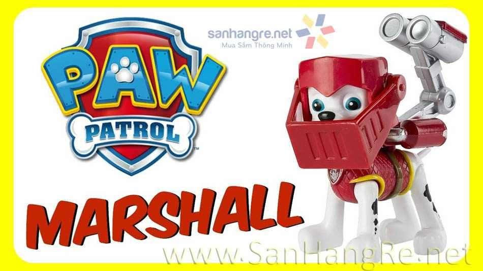 Đồ chơi chó Paw Patrol Mission Quest - Marshall