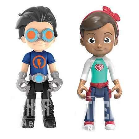 Bộ đôi Cậu bé Siêu nhân Rusty Rivets và cô bé Katie