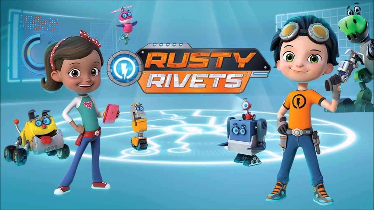 Câu bé Siêu nhân Rusty Rivets