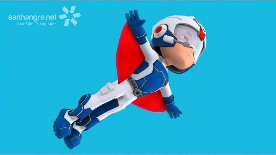 Đồ chơi đội trưởng Paw Patrol Rescue Ryder Flyman