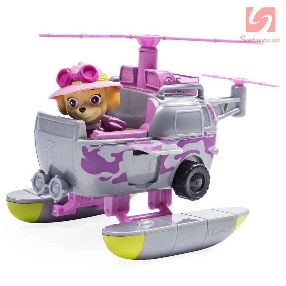 Đồ chơi Paw Patrol trực thăng cứu hộ và chó Skye Mạo hiểm