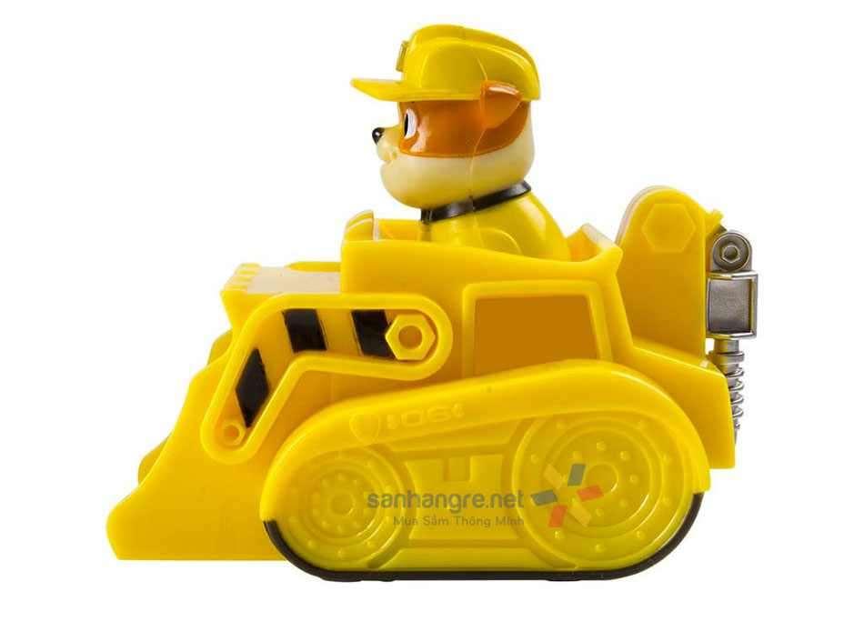 Đồ chơi xe và chó cứu hộ Paw Patrol Racers - Rubble
