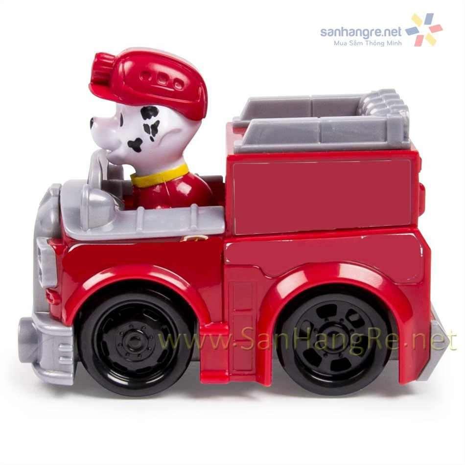Đồ chơi xe và chó cứu hộ Paw Patrol Racers - Marshall