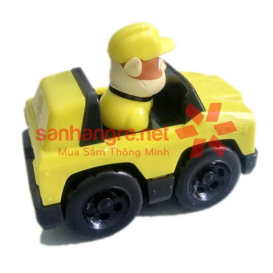Đồ chơi Paw Patrol xe ô tô và chó Rubble tinh nghịch