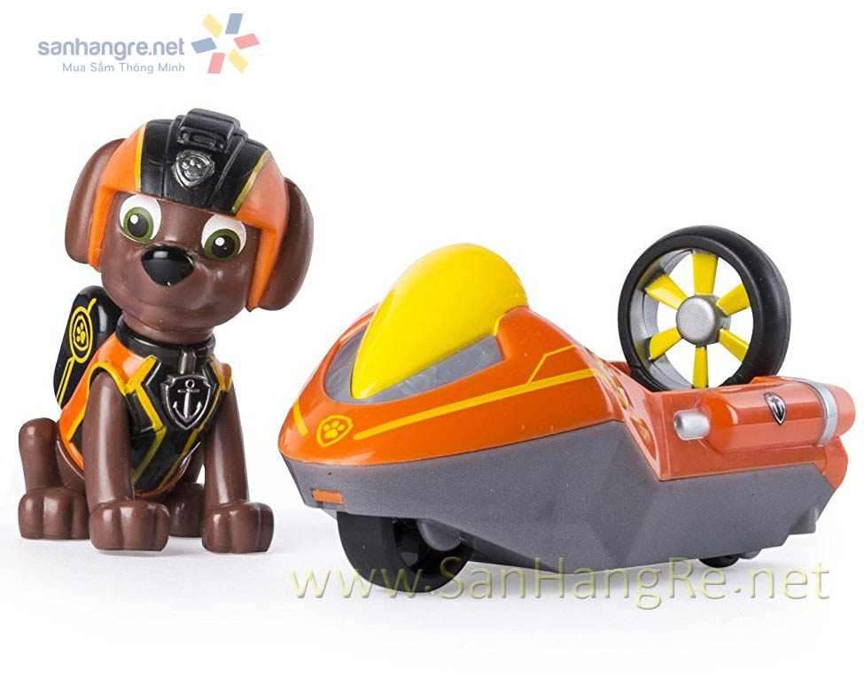 Đồ chơi Paw Patrol xe ca nô và chó Zuma 07