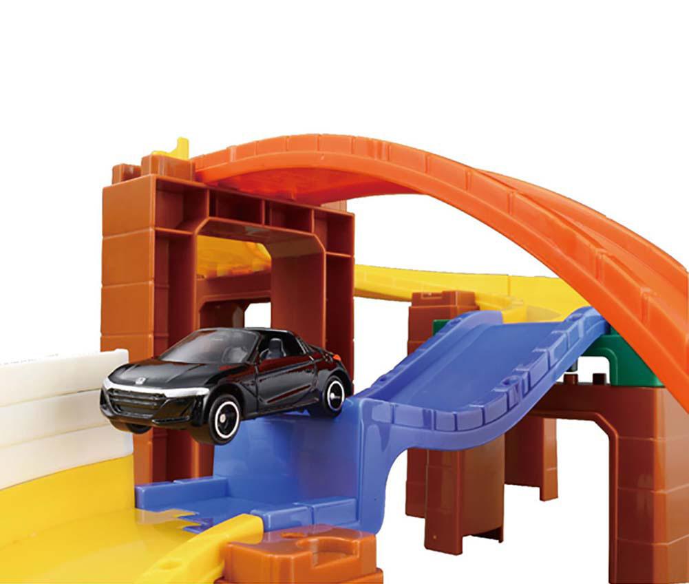 Bộ mô hình đường đua leo núi xe Tomica System 2Way Basic Road Set