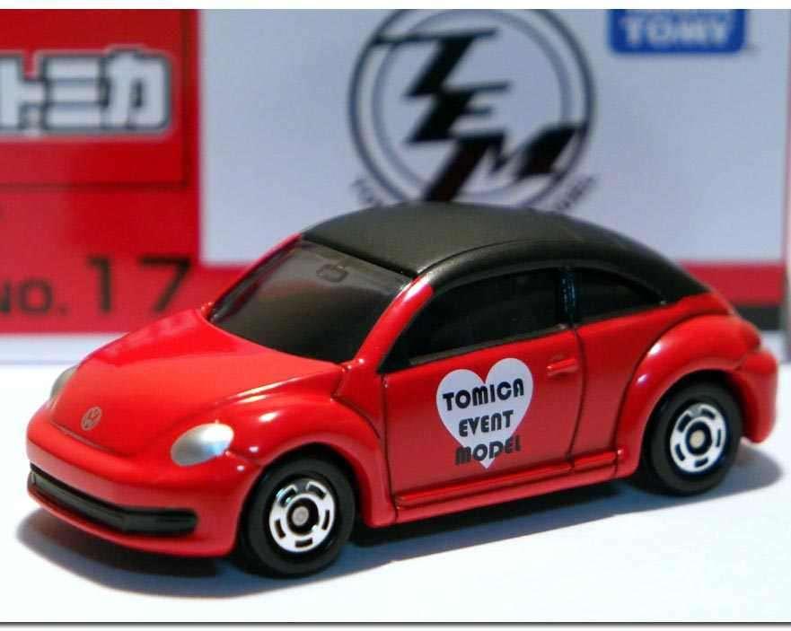 Xe mô hình Tomica Event Model Volkswagen the Beetle Red