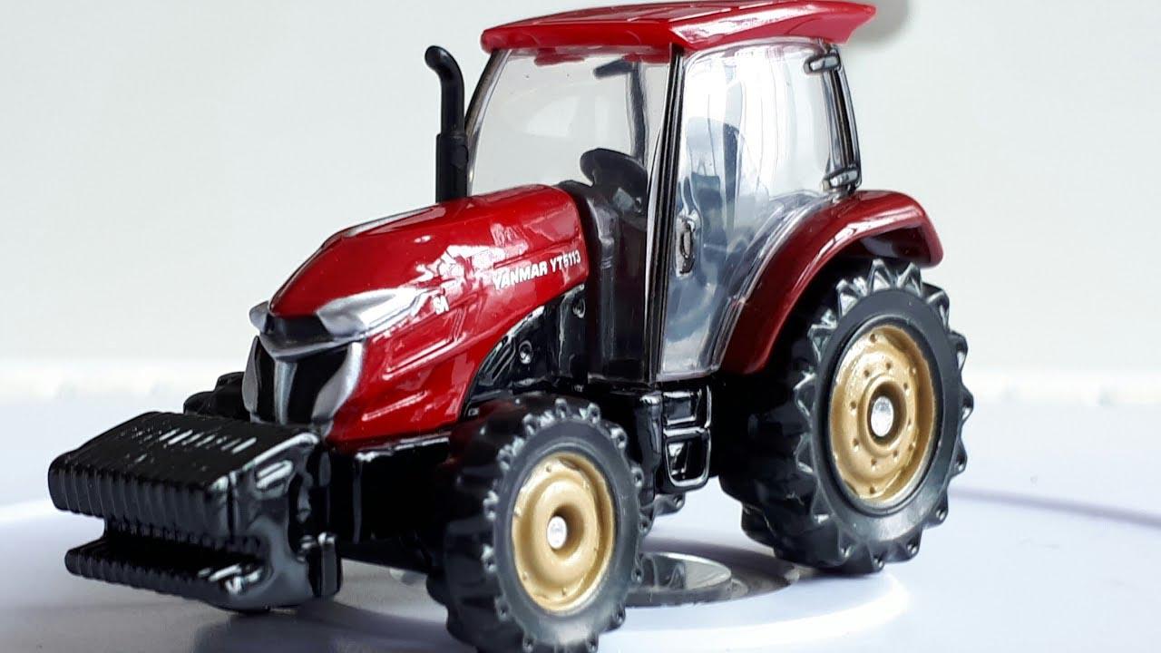 Xe mô hình Tomica Yanmar Tractor YT5113