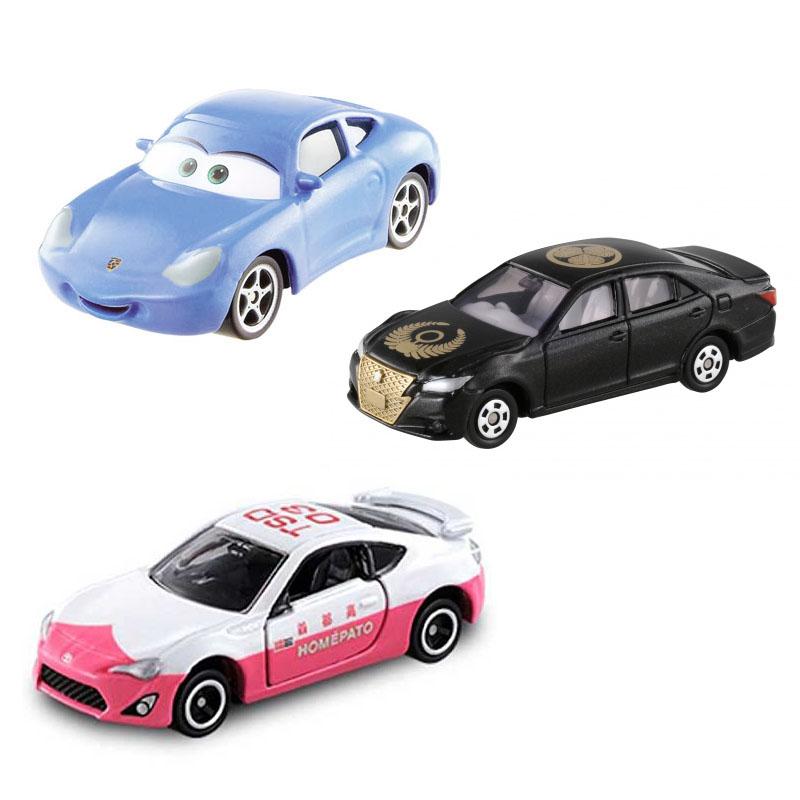 Bộ 3 xe ô tô mô hình Tomica Toyota Disney - Takara Tomy