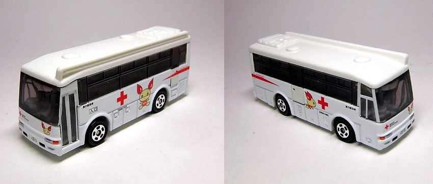 Xe bus mô hình Tomica Kenketsu Bus
