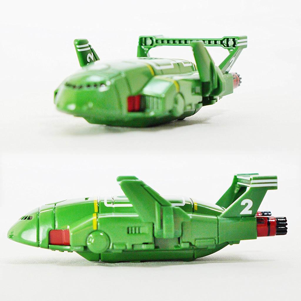 Phi thuyền không gian mô hình Tomica Are Go Thunderbird 2 Diecast