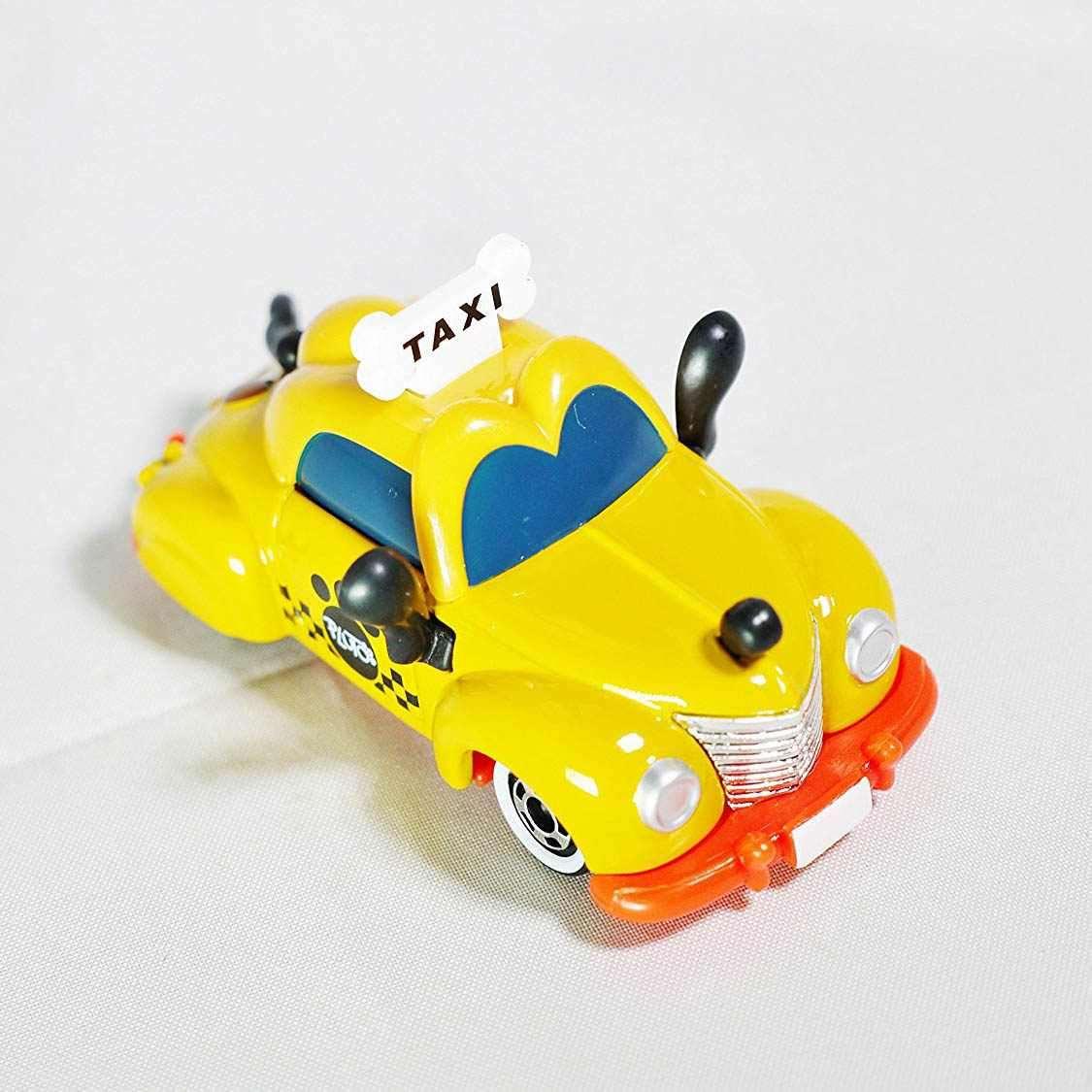 Xe mô hình Tomica Disney Resort Pluto Taxi Mickey Mouse