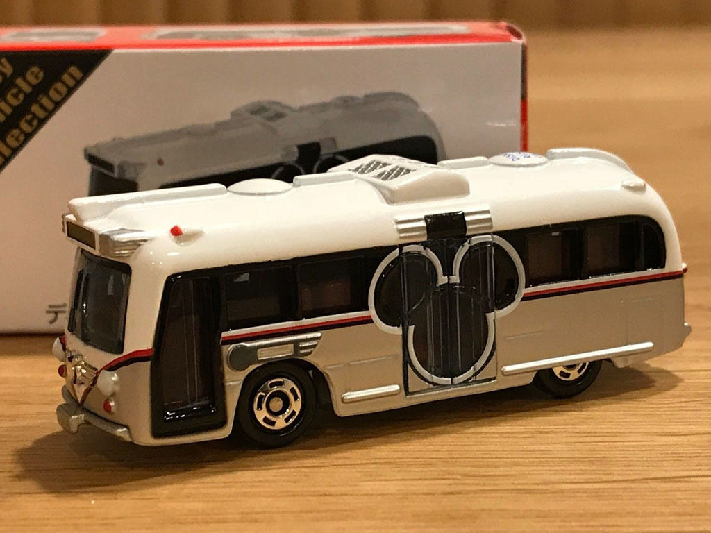 Xe bus mô hình Tomica Tokyo Disney Resort Vechile Collection Cruiser - Mickey Mouse