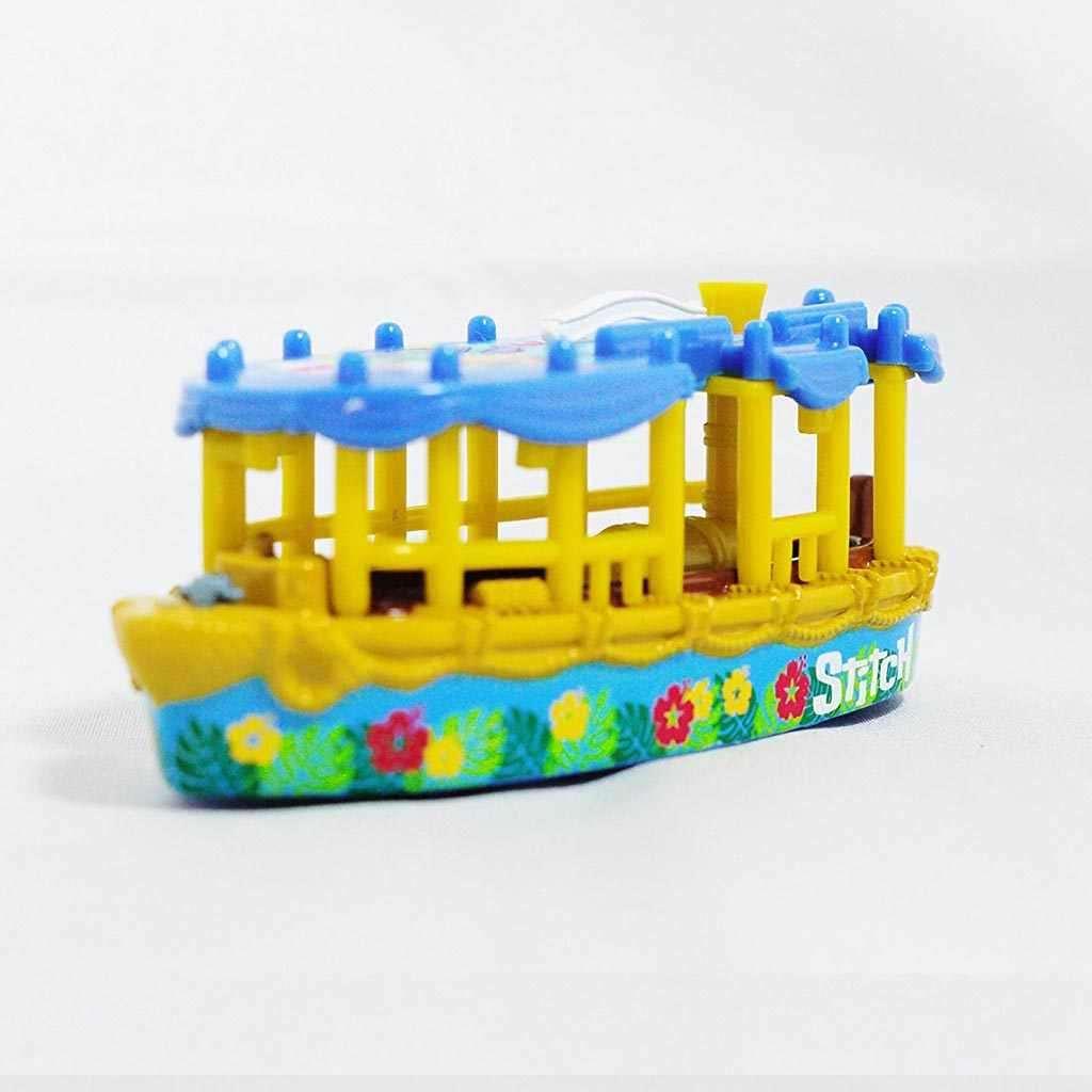 Xe mô hình thuyền Tomica Disney Sea Resort Jungle Cruise Stitch 2013