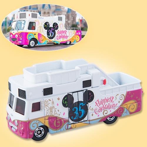Xe Mô Hình Tomica Disney Resort TDS 35th Happiest Celebration