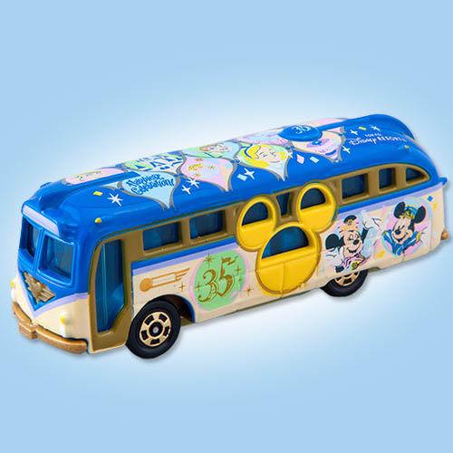 Xe bus mô hình Tomica Disney Resort TDS 35th Anniversary Cruiser