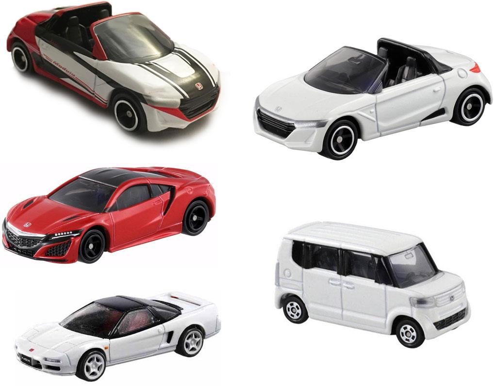 Bộ 5 xe ô tô mô hình Tomica Honda