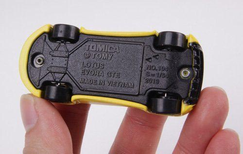 Xe mô hình Tomica Lotus Evora GTE Diecast Car Model tỷ lệ 1/64 trắng