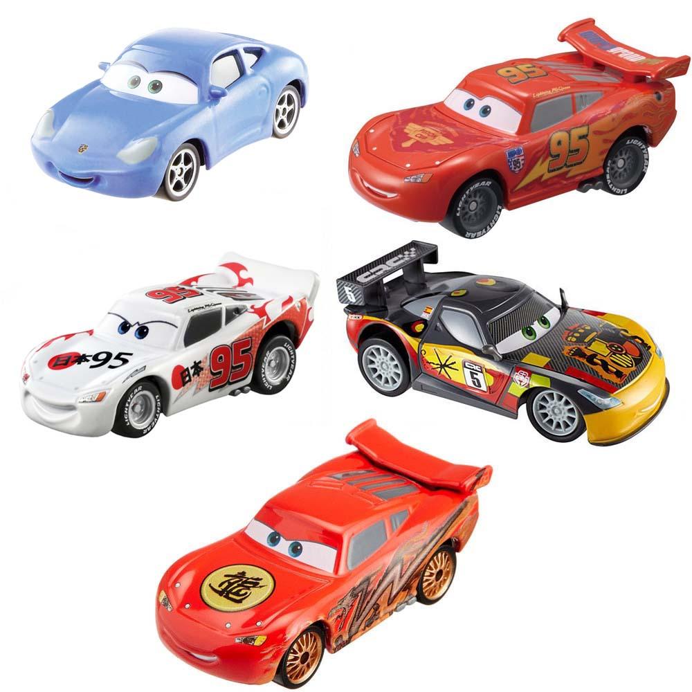 Bộ 5 xe ô tô mô hình Tomica Disney McQueen và Sally