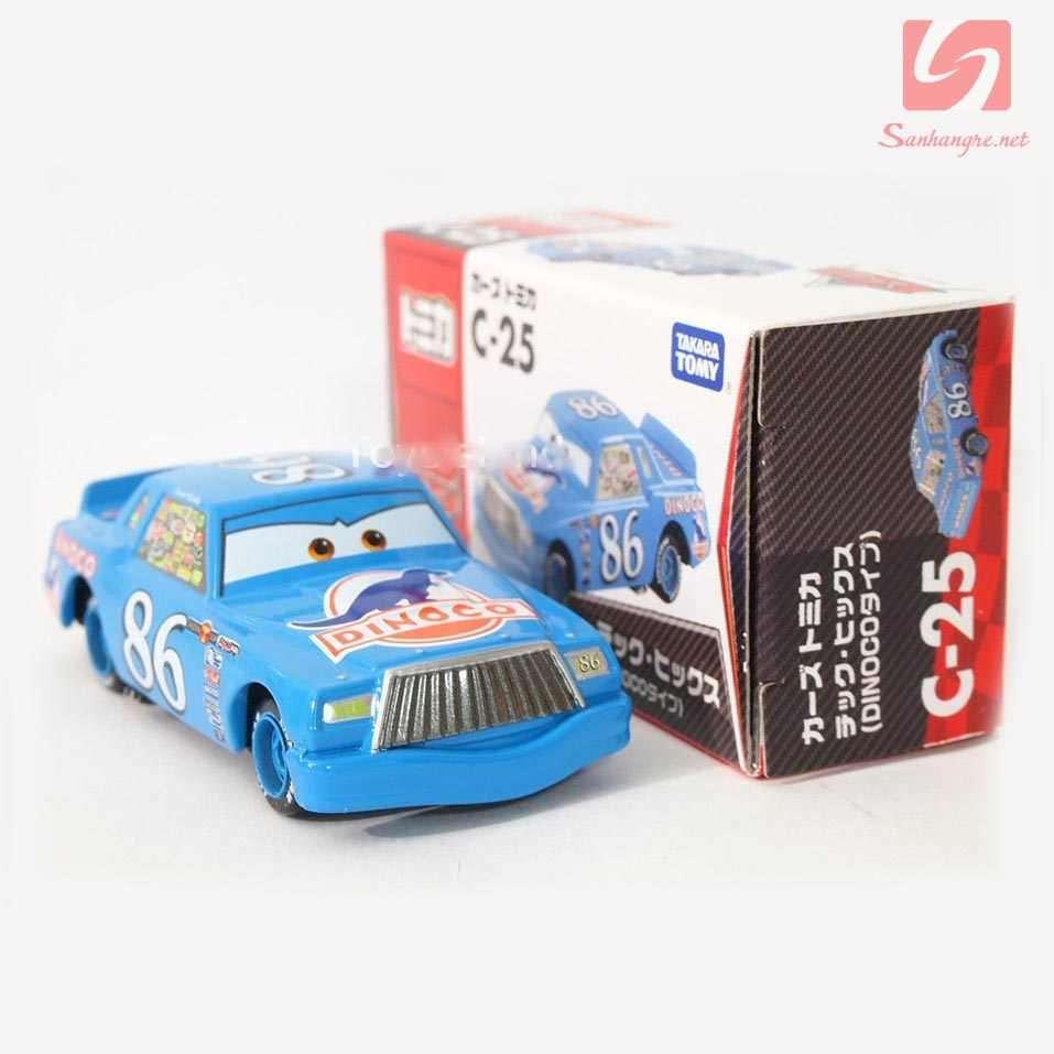 Xe ô tô mô hình Tomica Disney Cars-Chick Hick 98
