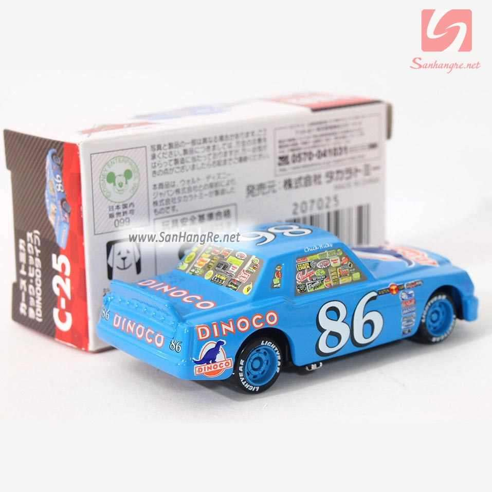 Xe ô tô mô hình Tomica Disney Cars-Chick Hicks 98