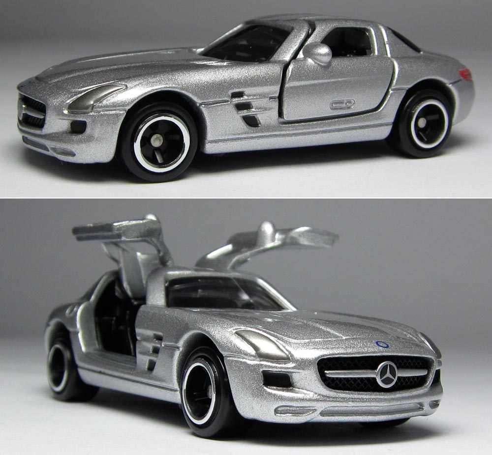 Mô hình siêu xe Tomica Standard 91 Mercedes-Benz SLS AMG