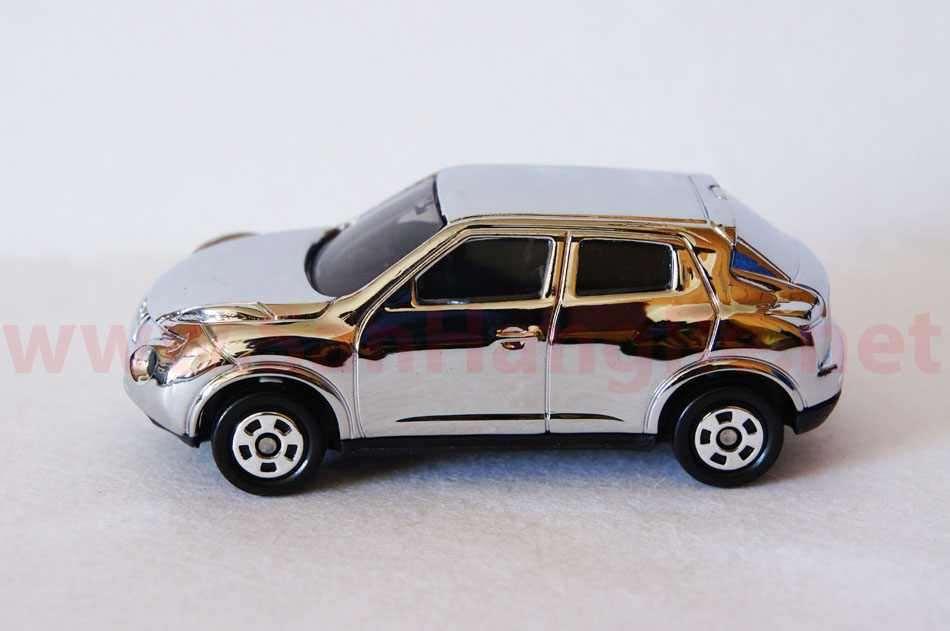 Xe ô tô mô hình Tomica Nissan Skyline 2013 Silver