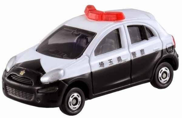 Xe mô hình cảnh sát Tomica Nissan March
