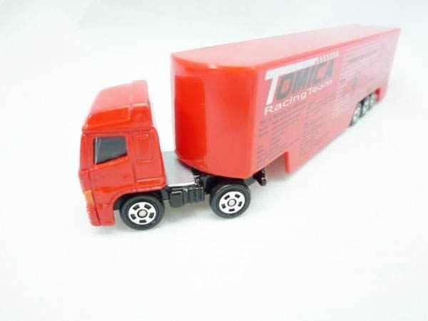 Xe container mô hình Tomica RacingTeam Transporter