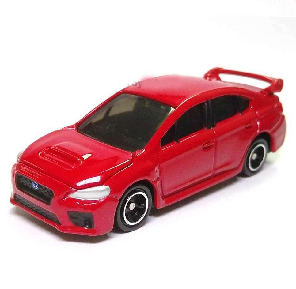 Xe ô tô mô hình Subaru Impreza Wrx Sti No 7