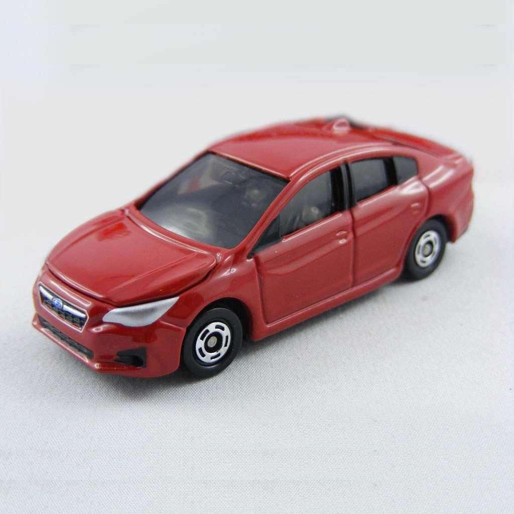 Xe ô tô mô hình Tomica Subaru Subaru Impreza Q4 - Đỏ