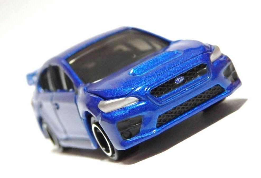 Xe ô tô mô hình Tomica Subaru Wrx Sti No 7 - Xanh (tỷ lệ 1:62)