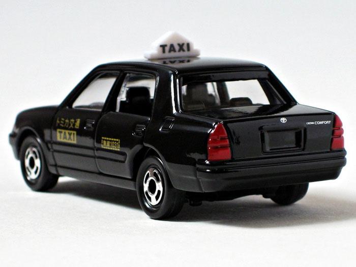 Xe mô hình Tomica Toyota Crown Comfort Taxi