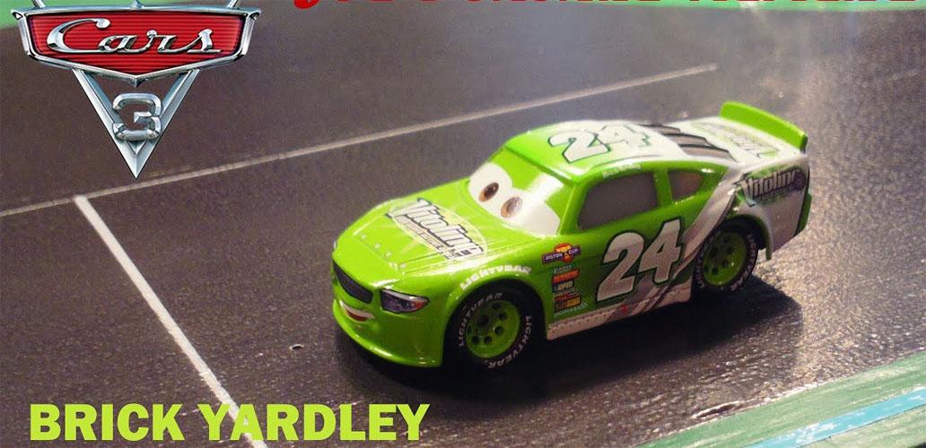 Xe ô tô mô hình Disney Cars Vitoline 24 - Brick Yardley