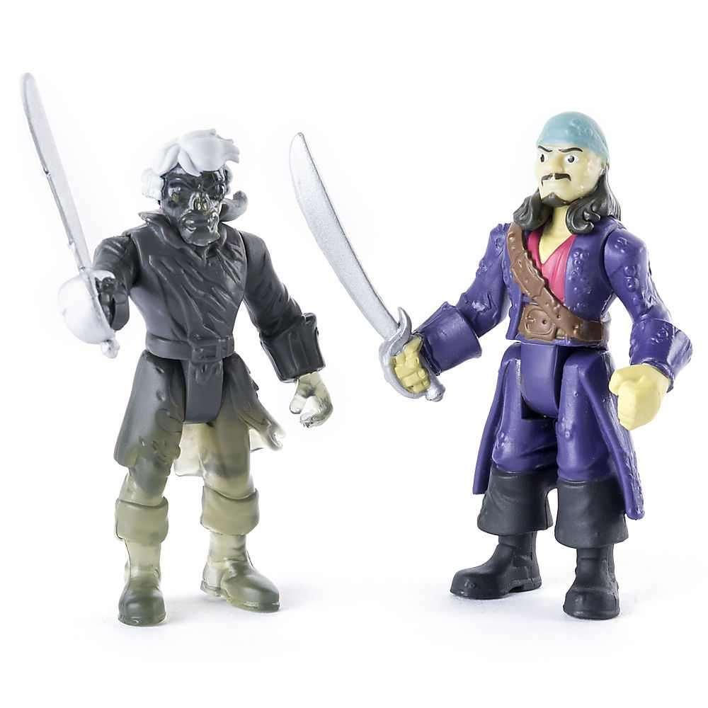 Đồ chơi thuyền và xe cướp biển Caribe Will Turner và Ghost Crewman