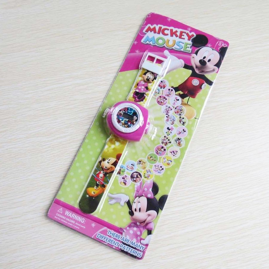 Đồng hồ điện tử đeo tay chiếu hình 3D WLT2221 Chuột Mickey Mouse