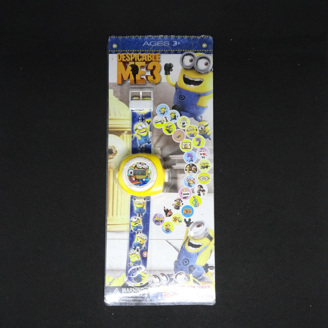 Đồng hồ điện tử đeo tay chiếu hình 3D WLT22 Minions Despicable Me 2